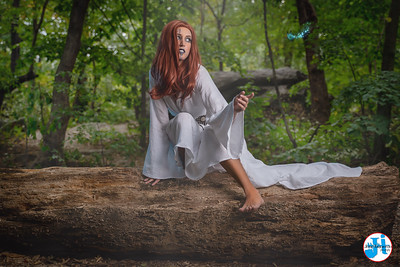 @worldwideblond Fantasy Cosplay Photoshoot Central Park September 2020