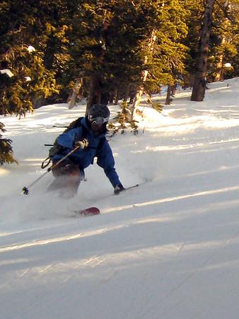 Berthoud Pass Skiing 2/4/2009