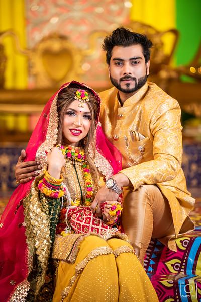 Aanisha & Azmi Holud