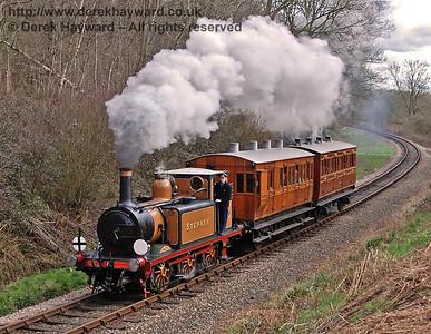 55 Stepney (Gamboge livery)