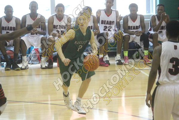 Mansfield - Dorchester Basketball - 12/28/14