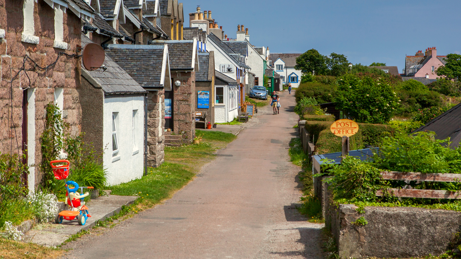 苏格兰见闻,朴实的小城平静的生活