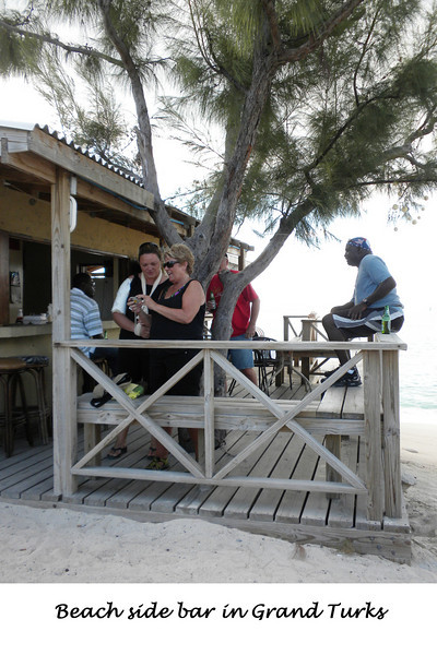 Sea side bar, inhabited by the locals and some tourists.