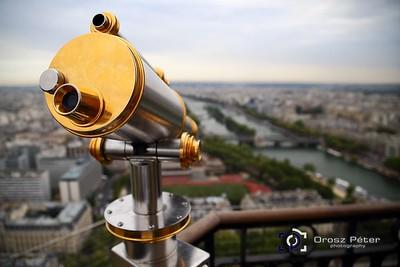 Paris, Eiffel Tower, Bateaux Mouches, 5. nap, 2015.08.18.