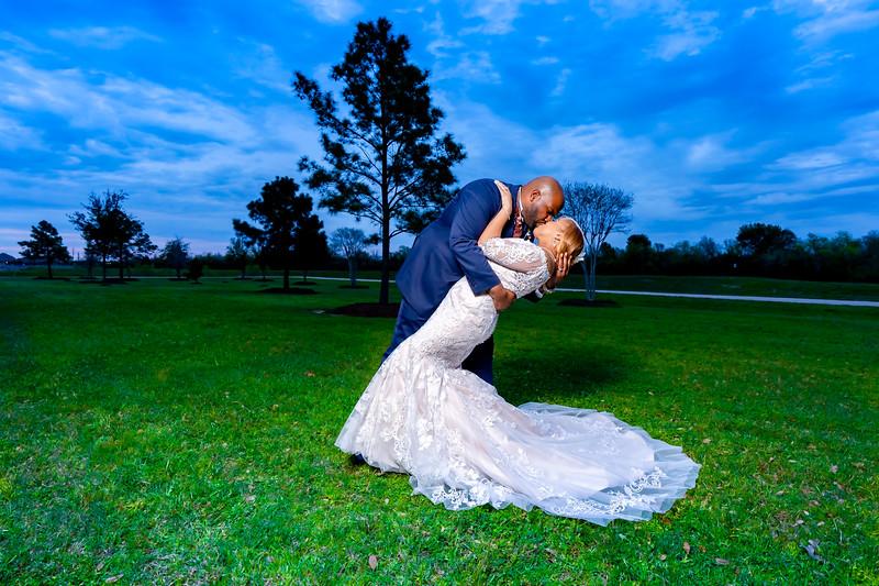 Derrick and Michelle Wedding 1