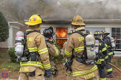 2019 - Live Fire Training Burn - October 26, 2019