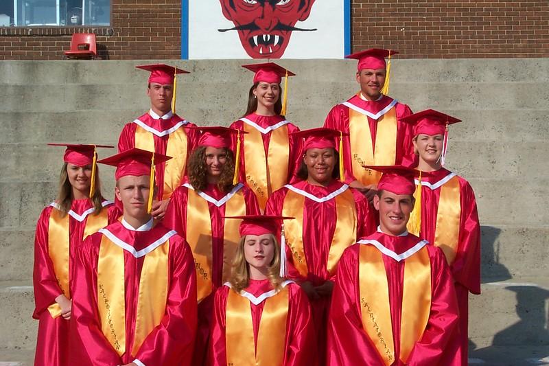 2001 HHS Graduation