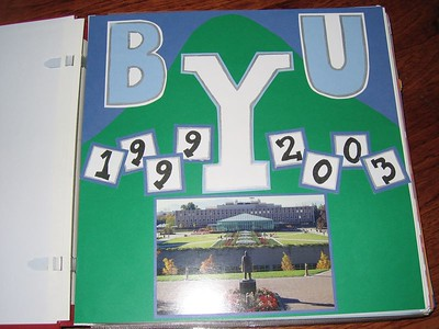 scrapbooking: the college years