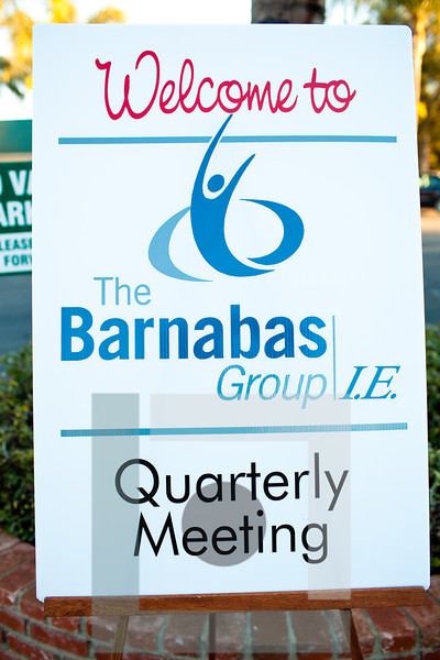 The Barnabas Group Q.1 Meeting 2012