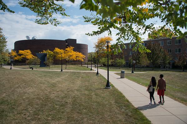 9/28/20 Scenics of Campus Quads and Walks