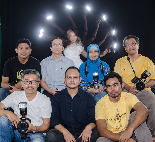 Creative Lighting dengan flash / speedlite