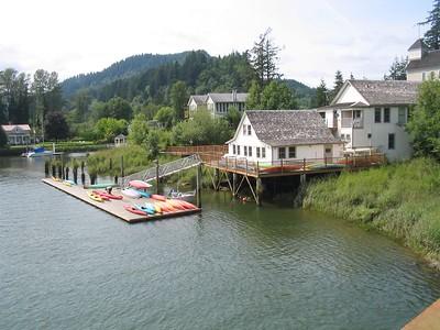 Columbia River Elderhostel Kayaking Part 3
