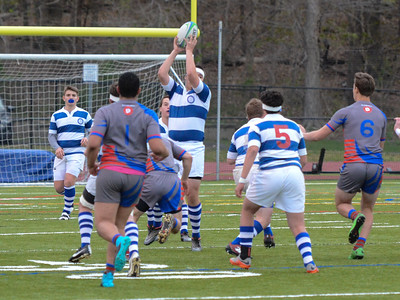DHS Rugby vs FF Ludlowe  4-29-16