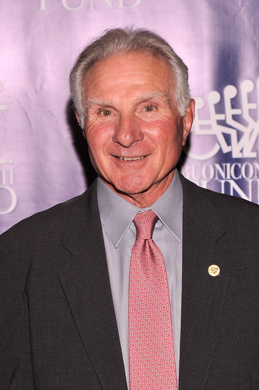 . Founder and CEO of The Buoniconti Fund, Nick Buoniconti attends the 28th Annual Great Sports Legends Dinner to Benefit The Buoniconti Fund To Cure Paralysis at The Waldorf Astoria on September 30, 2013 in New York City.  (Photo by Stephen Lovekin/Getty Images for The Buoniconti Fund To Cure Paralysis)