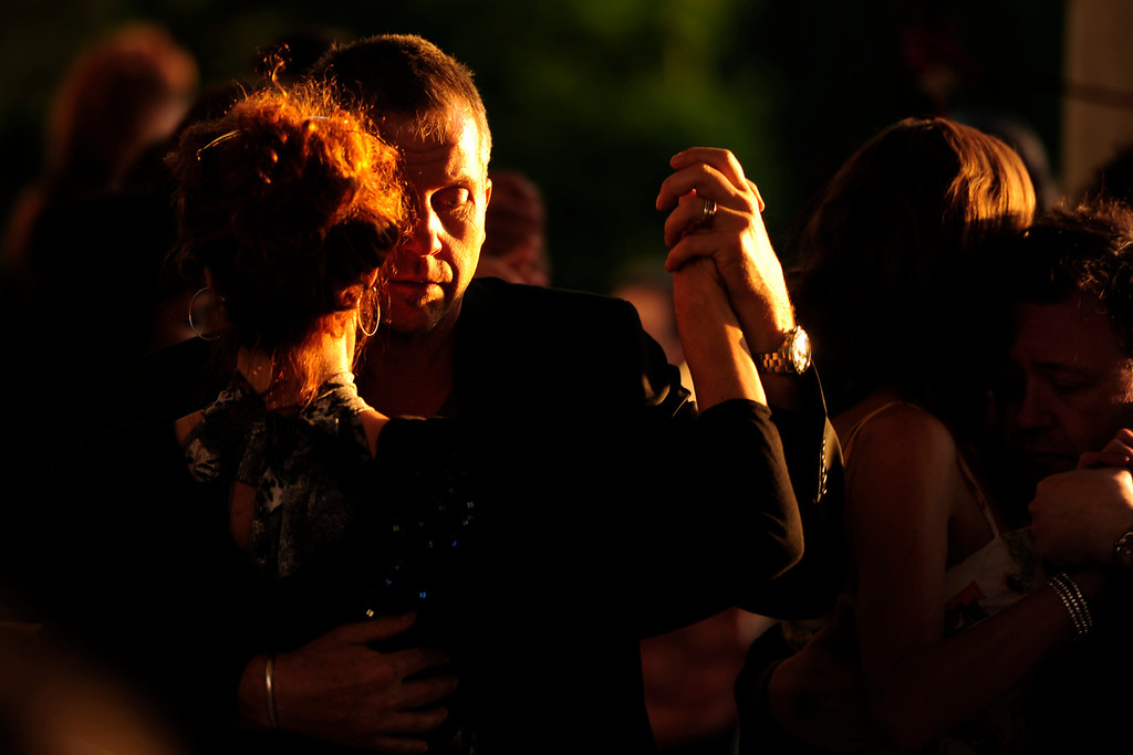 . Couples dance during the Denver Tango Festival at Cheesman Park on Sunday, May 27, 2012. AAron Ontiveroz, The Denver Post