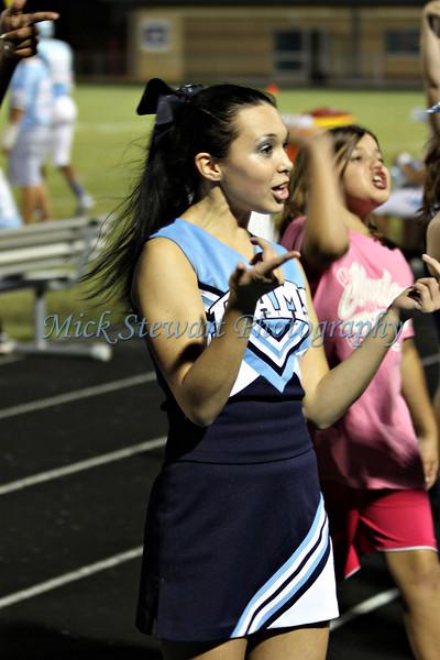CHS Cheerleaders Football 2011