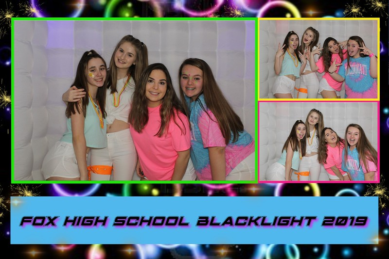 Fox HS Blacklight Dance