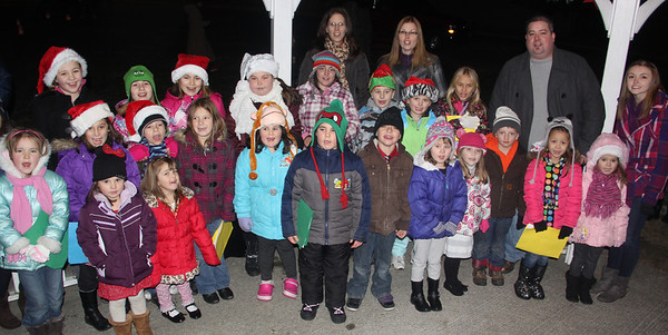 Christmas in Kennedy Park, Lansford Alive, Lansford (11-30-2013)
