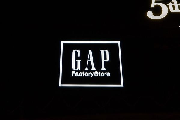 Gap Archway Signs