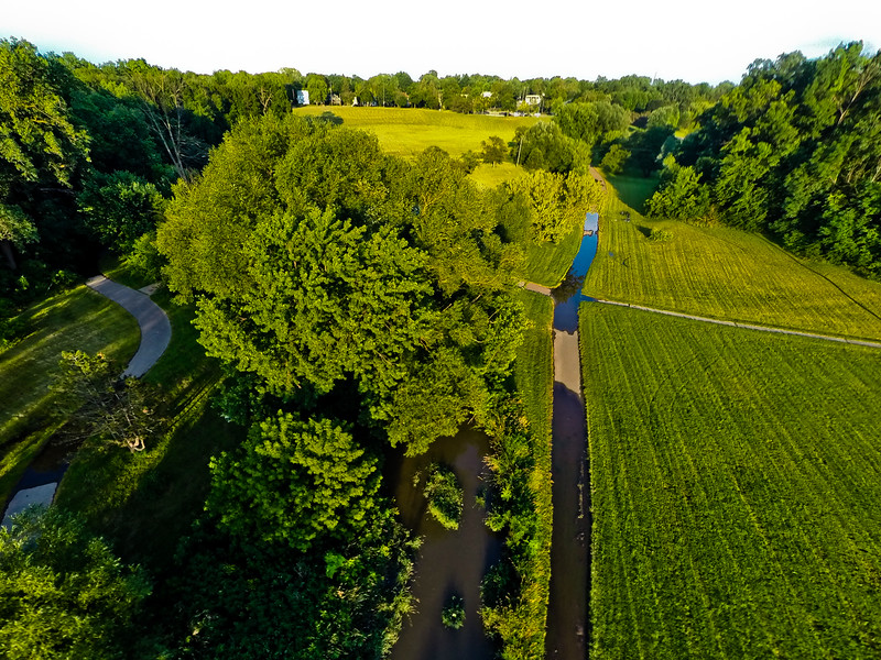 Summer Sunset at the Park 13 : Aerial Photography from Project Aerospace