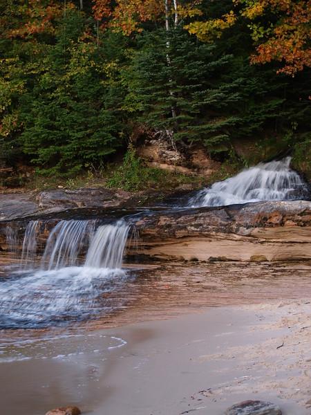 Waterfall at Miners Beach