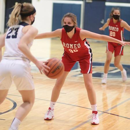 3/2021 Girls Varsity Basketball vs Stevenson High School