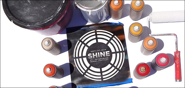 Shine Sept 1---10th 2016  St Pete Mural Festival