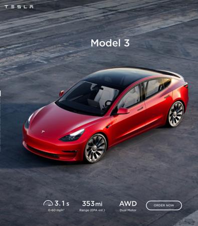 99999999 Tesla Model 3