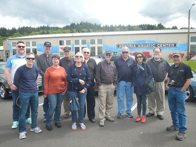 Drive to Astoria and the Columbia River Maritime Museum - May 18, 2019