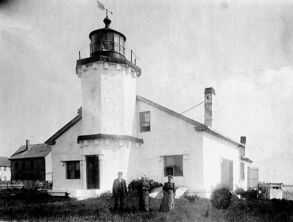 Stonington 1 Lighthouse Burdick Col