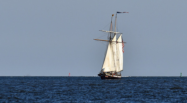 Tall Ship Lynx in St. Simons Sound 11-20-19