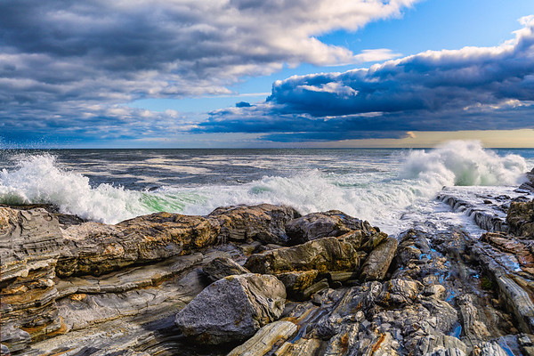Pemaquid Point & Lighthouse - Maine - 2019