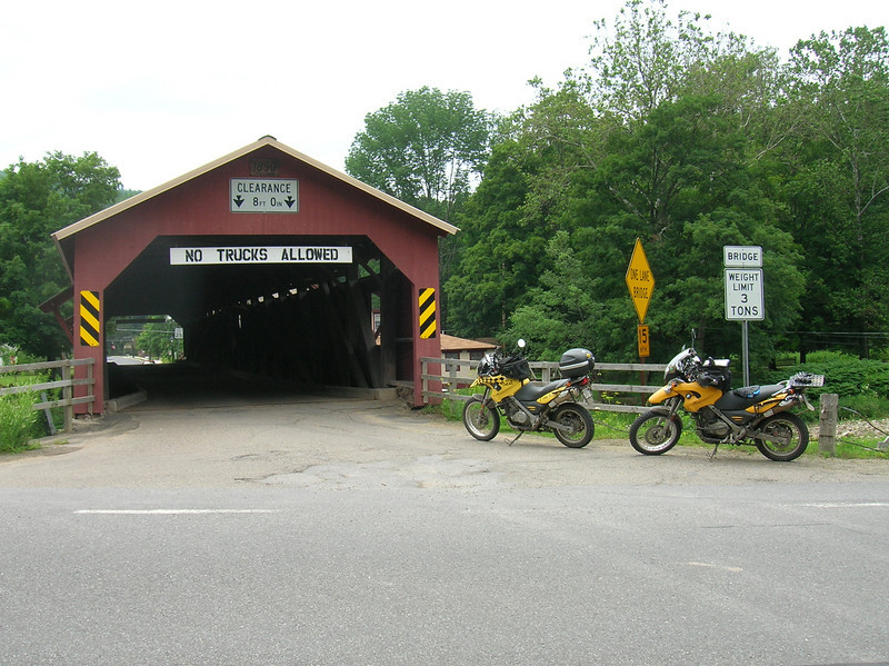 Forksville PA covered bridge