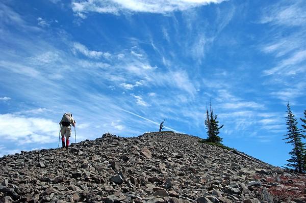 Rossland Range Traverse; Kirkup, Gray, Granite & Red
