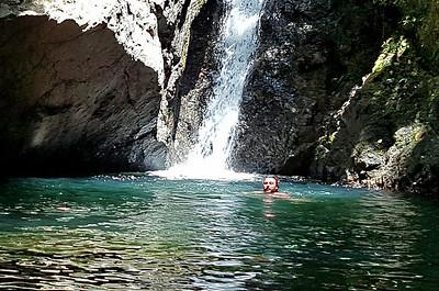 Los Patos Waterfall