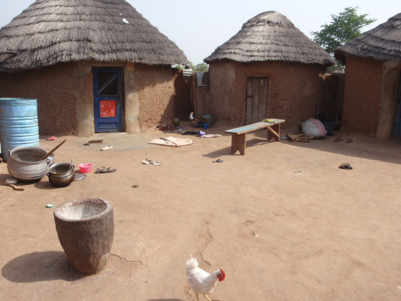 036_Between Tamale and Kumasi. Village Life and Traditional Buildings.jpg