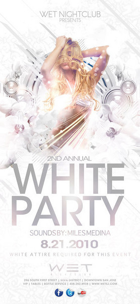 8-21 [All white party, 2nd Annual@WET]