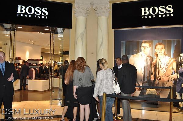 A Night of Fashion at HUGO BOSS