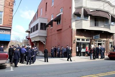Funeral for Paramedic Brenda Bauer