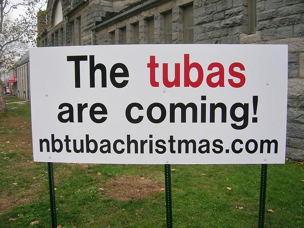 TubaChristmas sign