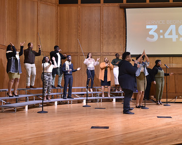 28Jan20 - Worship at Wiley College.