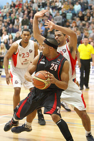 Guildford Heat v Leicester Riders (31.01.10)