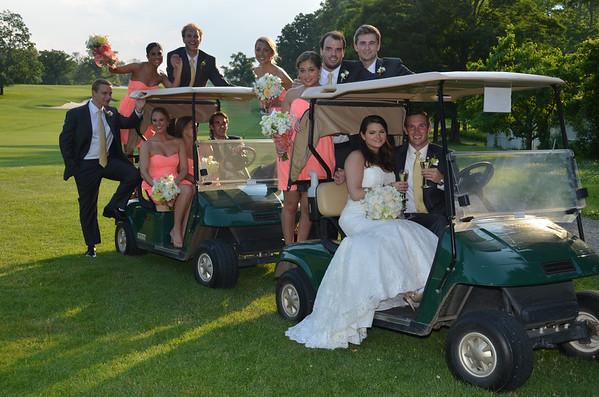 June 29, 2013 - Meredith Ledes, Jason Laird Wedding