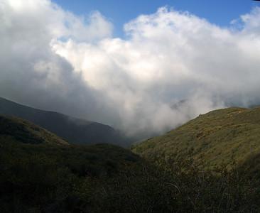 Montecito Trail hike 09/29/2007