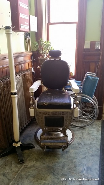 Barber Chair (maybe dentist too)