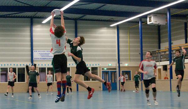 2e divisie indoor 15 februari 2009