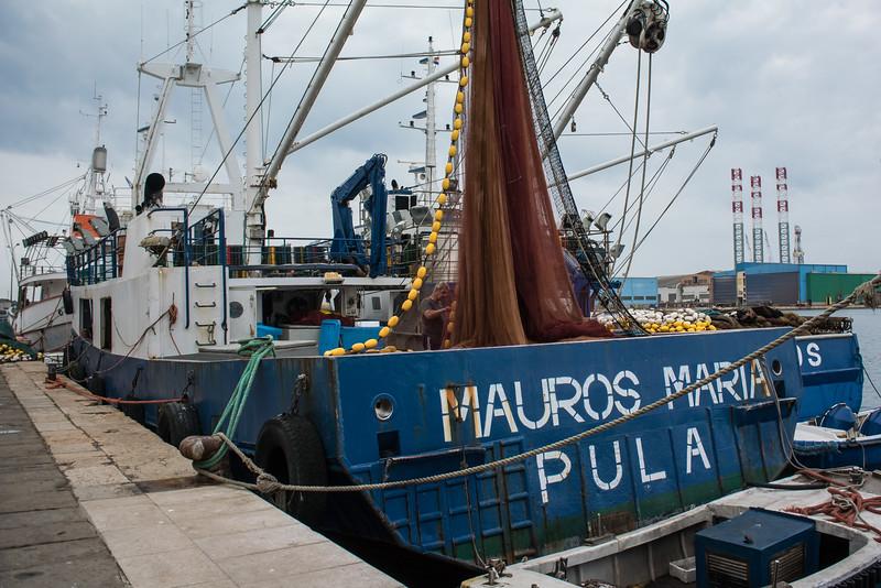 Pula waterfront