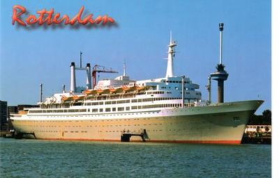 Holland America Line - ROTTERDAM V 1959