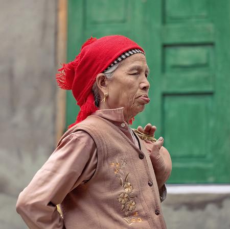Portraits d'adultes à Mai Chau