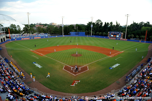 Photo Gallery: UF Baseball vs. Southern Miss, NCAA Super Regional, 6/7/09